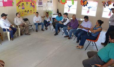 Avanza reconstrucción de escuelas en el Istmo de Oaxaca: INIFED