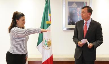 Procurador Federal, Guillermo Haro Bélchez, tomó protesta a Laura Elena Ulate Casanova, como nueva Delegada Federal de la Procuraduría Federal de Protección al Ambiente (PROFEPA) en el estado de Chihuahua.