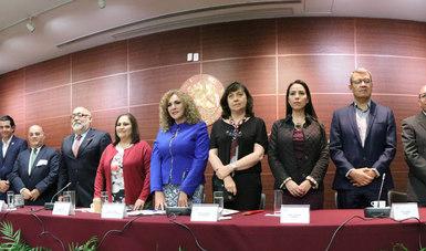 Presidium en la inauguración del 2º Foro Nacional de Adaptación al Cambio Climático en el Senado de la República