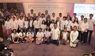 17º Taller Nacional de DIFusores de los derechos  de niñas, niños y adolescentes.