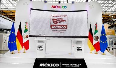 México cierra 700 mdd de negocios en la feria Hannover 2018