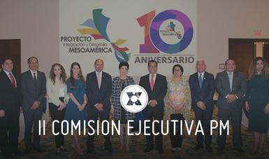 La agenda de la Comisión Ejecutiva abrió con la presentación de avances y resultados de Costa Rica.