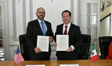Farmacopeas de México y de EEUU firman memorándum de entendimiento