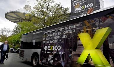 Imágenes de México en lugares estratégicos de Hannover Messe