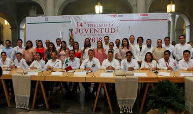 Con Políticas Efectivas Concluye El Encuentro Nacional De Titulares De Juventud