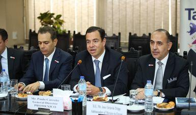 ProMéxico encabeza creación de Consejo de Negocios con Egipto
