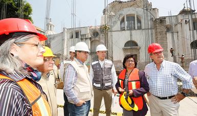Instruye Granados Roldán acelerar obras en nueve escuelas de la Ciudad de México, con daños totales por el sismo