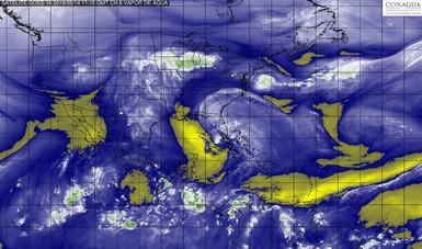 Hoy se prevén lluvias muy fuertes en áreas de Chiapas y Oaxaca.