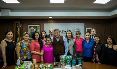 Reconoce SAGARPA organización y resultados de mujeres emprendedoras en el campo nacional.