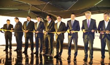 La empresa Continental inaugura en Querétaro su Centro de Investigación, Desarrollo e Innovación