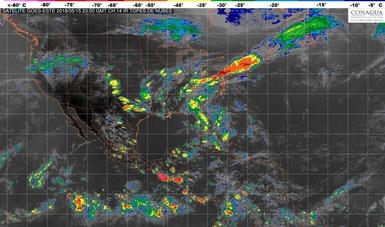 Se pronostican tormentas fuertes de corta duración, granizadas y vientos fuertes para Chihuahua, Coahuila y Nuevo León.