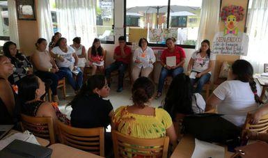 Realizan el Conafe en Veracruz el Taller de Formación Intermedio.