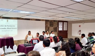 Realiza Conafe en Tuxtla Gutiérrez la primera parte del Taller Estatal Intermedio de Formación.