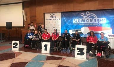 Los para tenistas de mesa sumaron un oro y dos bronces en su gira de preparación rumbo al Mundial 2018