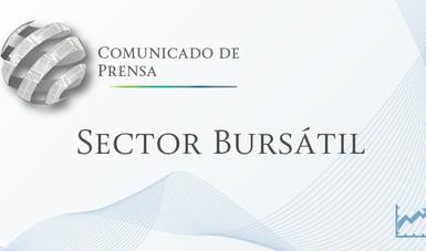 Comunicado de Prensa Sector Bursátil