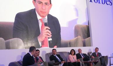 Antonio Chemor Ruiz, Comisionado Nacional del Seguro Popular, dijo que el impulso de las reformas en el sector ha permitido que se avance en la lógica de una mayor eficiencia administrativa, rendición de cuentas y transparencia de recursos.
