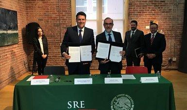 La SRE y la Secretaría de Economía, por medio del Instituto Nacional del Emprendedor, firman convenio de colaboración