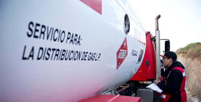 La Secretaría de Energía refuerza medidas de verificación a distribuidores de Gas L.P.