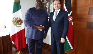México y Kenya celebran la segunda reunión del Mecanismo de Consultas en Materias de Interés Común