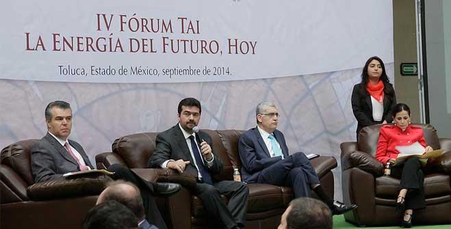 """Leonardo Beltrán Rodríguez, Subsecretario de Planeación y Transición Energética, durante su participación en el IV Forum TAI """"La Energía del Futuro, Hoy"""""""