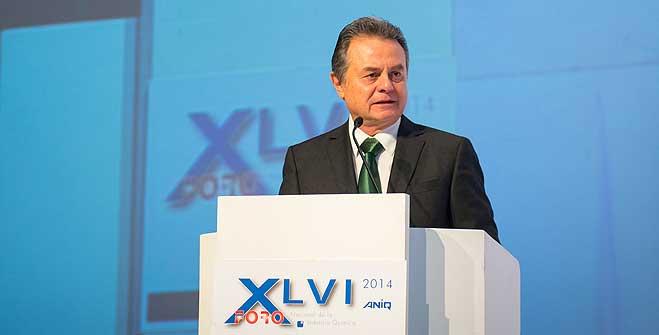 El Secretario de Energía, Pedro Joaquín Coldwell, durante la inauguración del XLVI Foro Nacional de la Industria Química.