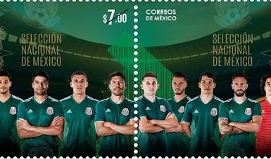 SEPOMEX emite estampillas de la Selección Mexicana de Futbol