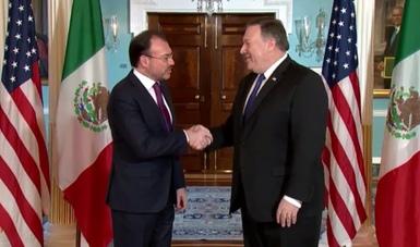 Éste es el segundo encuentro entre ambos Cancilleres desde que el Secretario de Estado tomó posesión el 26 de abril de este año.