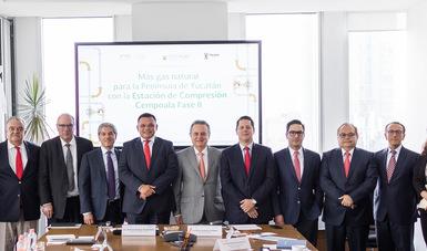 Reunión SENER-CENAGAS-GOBIERNO YUCATÁN
