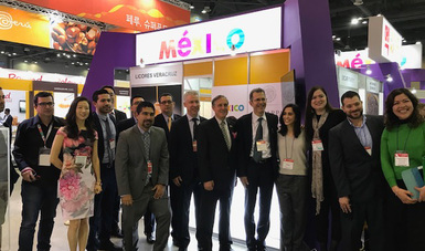 """Con apoyo de la SAGARPA, un grupo de productores y agroempresarios agrícolas mexicanos participaron en la """"Seoul Food & Hotel 2018"""", considerada como la principal feria de alimentos y hotelería de Corea del Sur."""