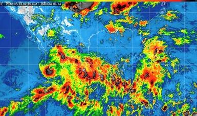 Bud se debilitó a huracán categoría 1, durante la noche de hoy.