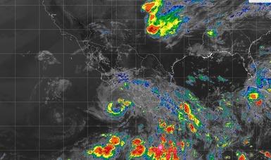Las bandas nubosas de Bud originarán tormentas torrenciales en la mayor parte de Colima y el sur y la costa de Jalisco.