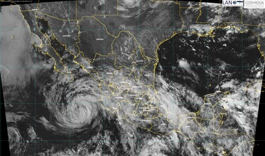 Bud originará tormentas torrenciales en el centro de Sinaloa, la mayor parte de Colima, así como en el sur y la costa de Jalisco.