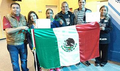 Alumnos del CONALEP Tamaulipas obtienen 1er. lugar en Feria de Proyectos en Argentina