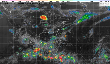 Cinco sistemas tropicales mantendrán el primer temporal de lluvias de 2018 en México.