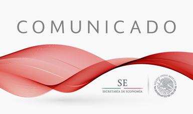 Comunicado de la Secretaría de Economía