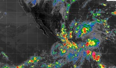 La depresión tropical Carlotta mantiene el potencial de tormentas intensas en regiones de Michoacán, Guerrero, Colima y Oaxaca.