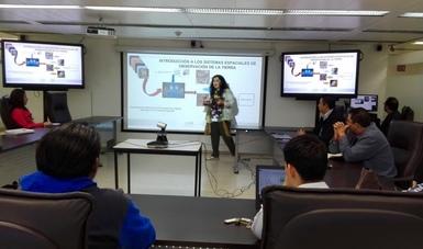 Imparte AEM a profesores curso de procesamiento de imágenes satelitales