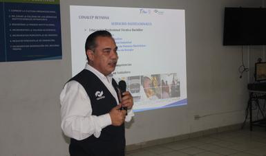 Plantel CONALEP Reynosa forma alianza con empresas transportistas