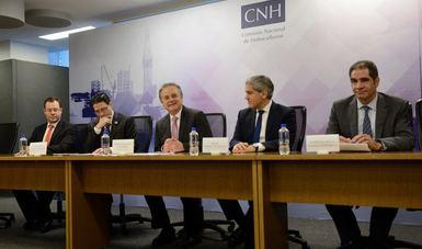 La CNH firma Contratos con los Licitantes Ganadores de la Primera Licitación de la Ronda Tres