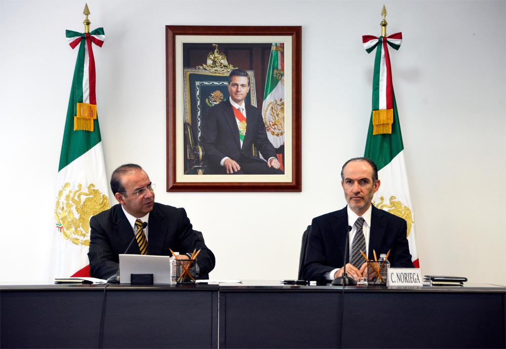 El Secretario del Trabajo y Previsión Social, Alfonso Navarrete Prida, destacó la necesidad de fortalecer el sistema de ahorro para el retiro en México.