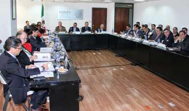 Reunión de la CLXXXVII Sesión Ordinaria del Comité Técnico de Distribución de Fondos de FONHAPO en las oficinas de SEDATU