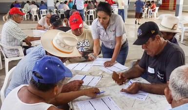 En algunas entidades, como Sonora y Sinaloa, el PROPESCA dio inicio en el mes de mayo.