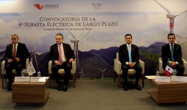 La CRE y el CENACE publican la convocatoria de la Cuarta Subasta Eléctrica de Largo Plazo