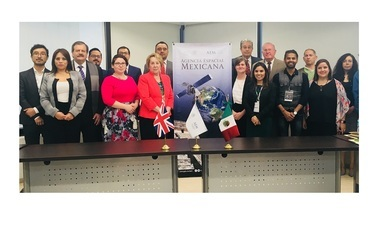 Suman esfuerzos AEM, SAGARPA y Reino unido para uso de datos satelitales en materia agroalimentaria