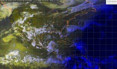 Para las próximas horas se pronostican tormentas de fuertes a muy fuertes en la mayor parte de México.