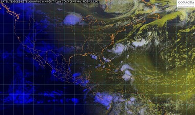 En las siguientes horas se prevén tormentas intensas en Veracruz, Oaxaca y Chiapas.