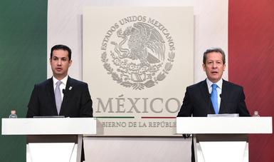 """""""Desde su comienzo, la Administración del Presidente Enrique Peña Nieto se propuso fortalecer y modernizar a las instituciones para solucionar los problemas más urgentes del país"""": ESH"""