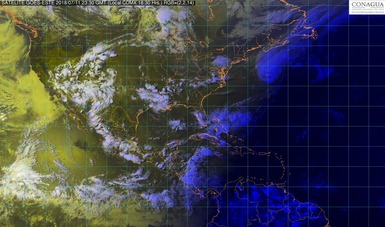 En Durango, Michoacán, Veracruz, Oaxaca y el occidente de México se prevén tormentas muy fuertes con posible granizo.