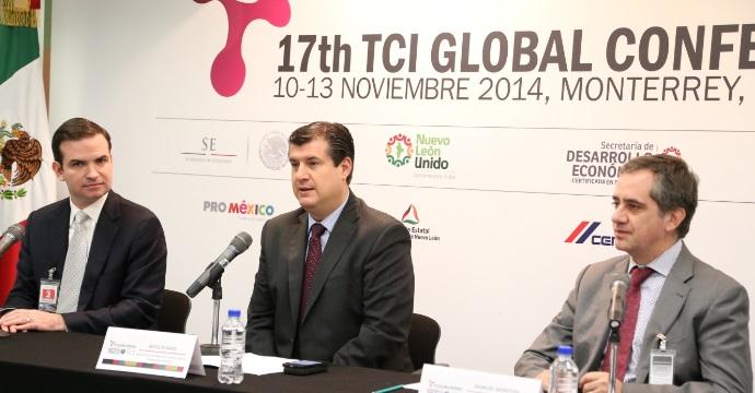 Anuncian el 17 Congreso Mundial de clústers del 10 al 13 de noviembre en Nuevo León