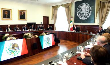 El Primer Mandatario conminó al Gabinete a continuar trabajando para concluir exitosamente los proyectos emprendidos.